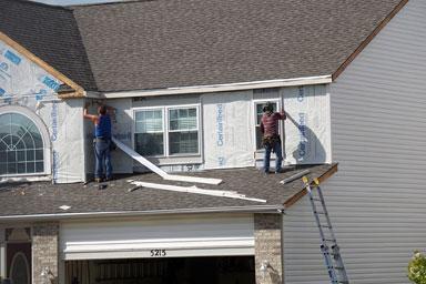 Siding repair professional Ashburn VA